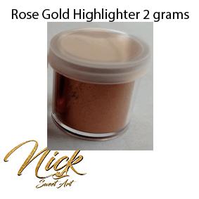 Rose Gold Highlighter 2 grams