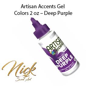 Artisan Accents Gel Colors 2 oz – Deep Purple