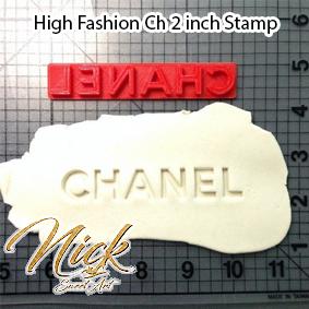 High Fashion Ch 2 inch Stamp