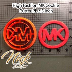 High Fashion MK Cookie Cutter PL 3.5 inch