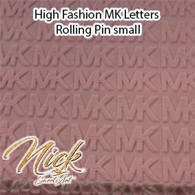 High Fashion MK Letters Rolling Pin small