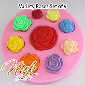 Variety Roses Set of 9