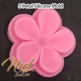 5 Petal Silicone Mold
