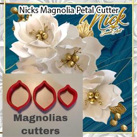 Nicks Magnolia Petal Cutter